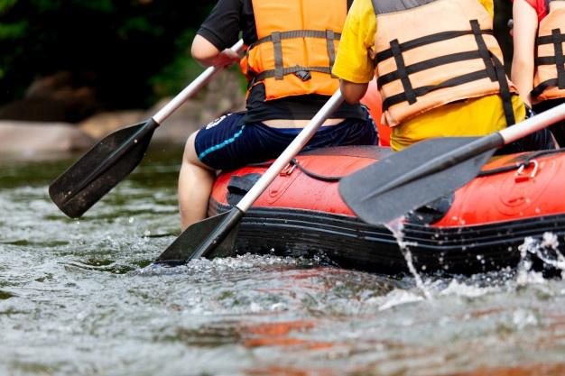 Bovec rafting v jesenskem času