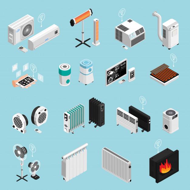 Toplotne črpalke in klimatske naprave